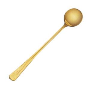 Ложка для коктейлей Кимоно позолоченная (6 предметов) от Цептер