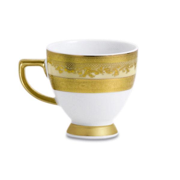 Фарфор Royal Gold - Чашки Еspresso Кремовые (12 Единиц) от Цептер