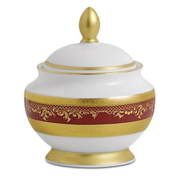 Фарфор Royal Gold - Кофейный Набор 6 Персон Бордо (15 Единиц) от Цептер