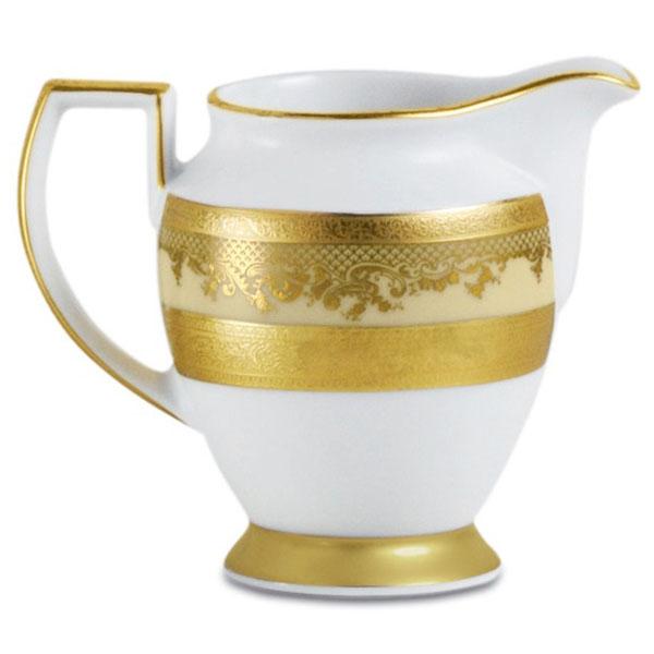 Фарфор Royal Gold - Кофейный Набор 6 Персон Кремовый (15 Единиц) от Цептер