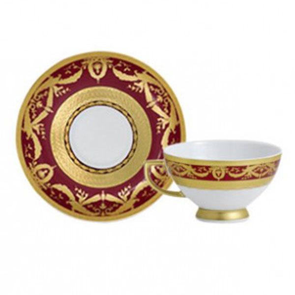 Фарфор Imperial Gold - Кофейный набор Дополнение Бордо (12 Единиц) от Цептер