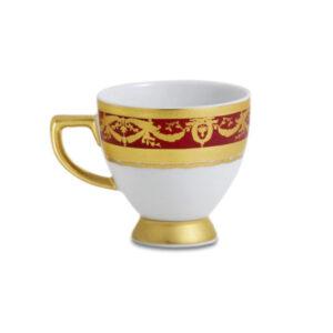Фарфор Imperial Gold - Чашки Еspresso Бордо (12 Единиц) от Цептер