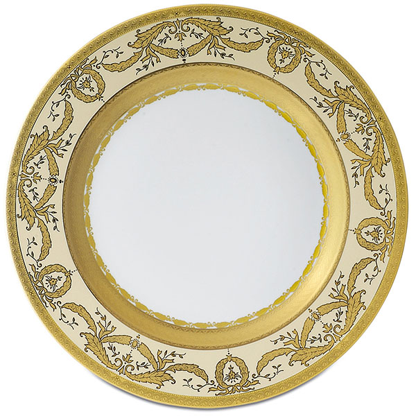 Фарфор Imperial Gold - Подставки под тарелки 32 см Кремовые (6 Единиц) от Цептер