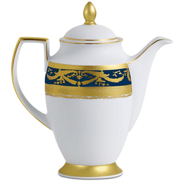 Фарфор Imperial Gold - Кофейный набор Дополнение Кобальт (12 Единиц) от Цептер