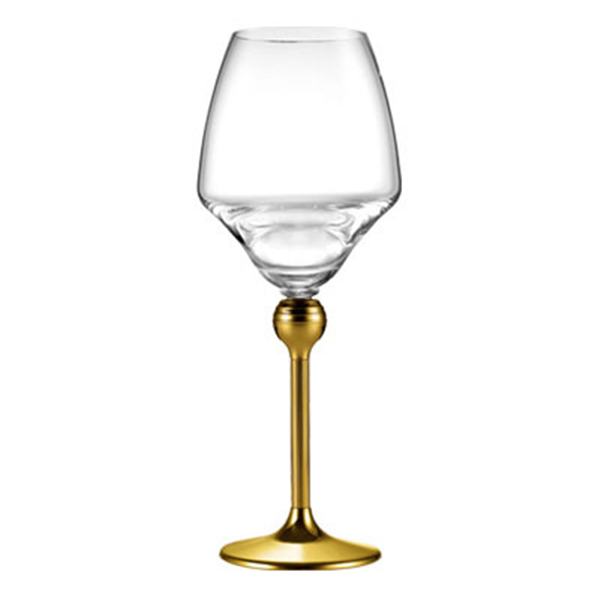 Бокалы для красного вина с золотым декором на ножках - 6 ед. от Цептер