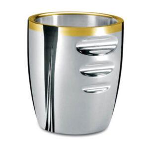 Ведерко для льда - посеребренное с золотым декором от Цептер