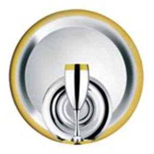 """Набор бокалов """"Ла Перле"""" - с серебряным покрытием и золотым декором от Цептер"""