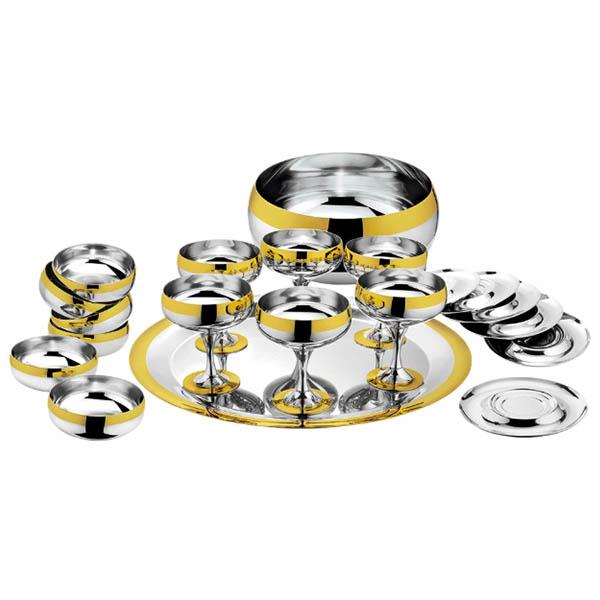 """Набор """"Барон"""" - с серебряным покрытием и золотым декором от Цептер"""