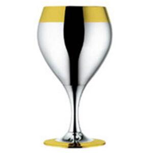 Набор из 6 шт бокалов для вина - с золотым декором от Цептер