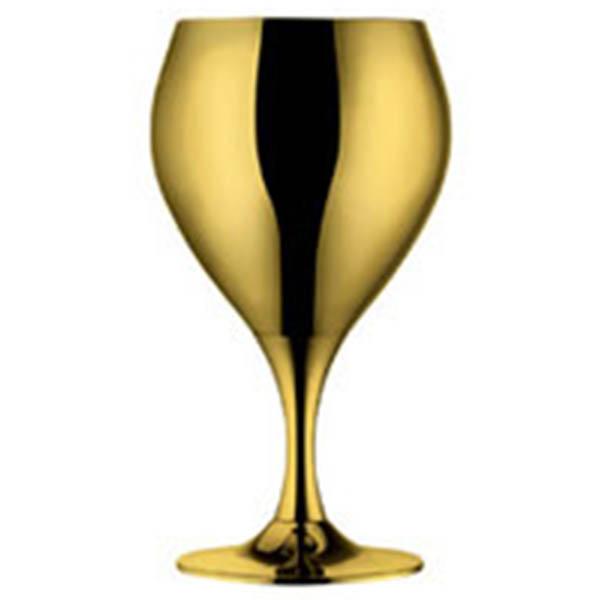 """Набор бокалов для вина """"Принц"""" - позолоченный от Цептер"""