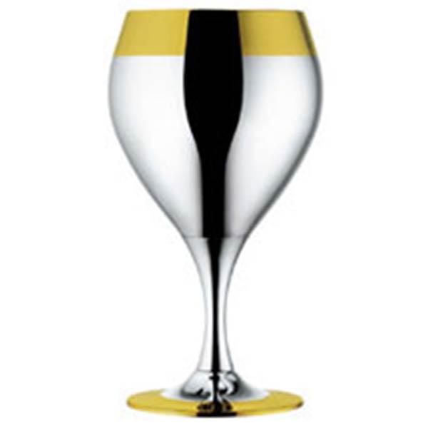 """Набор бокалов для воды """"Принц"""" - с золотым декором от Цептер"""