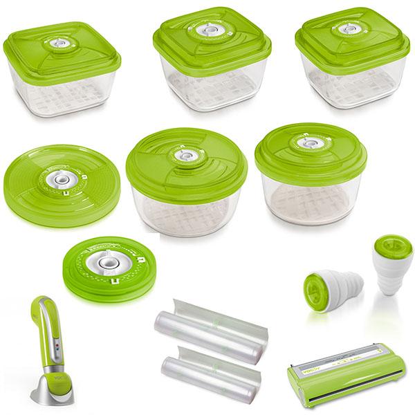 Комплект Vacsy Family- зеленый от Цептер